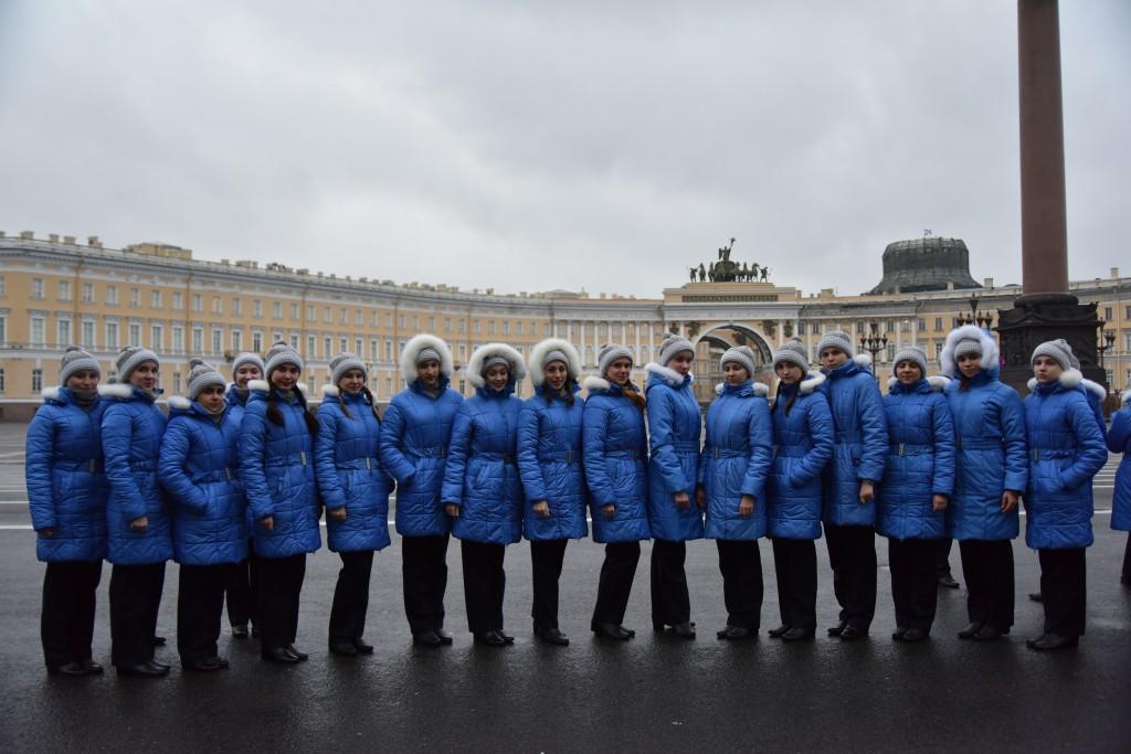 Посещение Дворцовой площади (1)