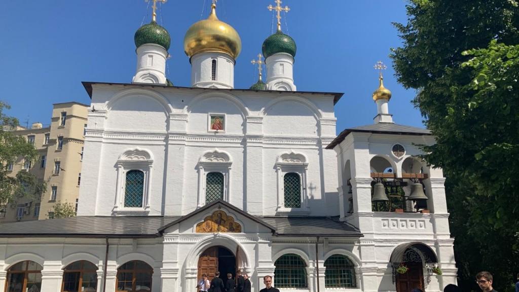 Храм Собора Сретения Владимирской иконы Божией Матери